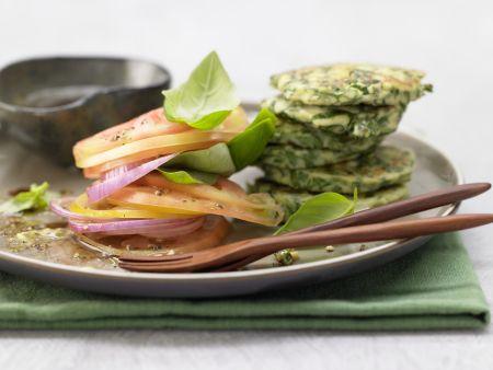 Ricotta-Spinat-Plätzchen