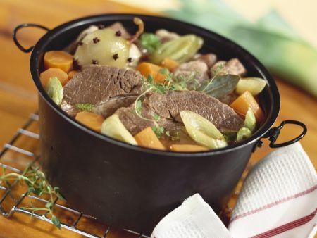 Rindfleisch-Gemüse-Eintopf