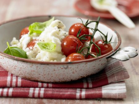 Risotto mit Tomaten