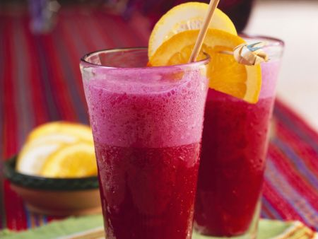 Rote-Bete-Obst-Drink