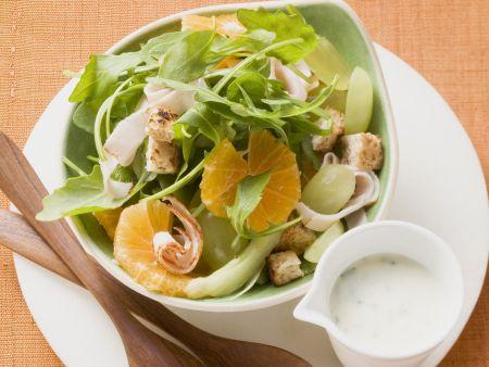 Rucola-Mandarinen-Salat