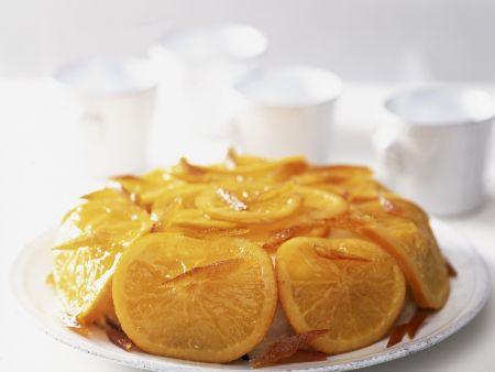 Rum-Orangen-Dessert