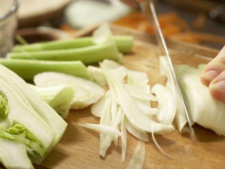 Safran-Gemüse-Suppe: Zubereitungsschritt 6