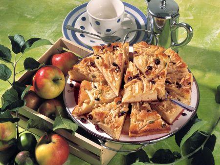 Saftiger Apfel-Blechkuchen