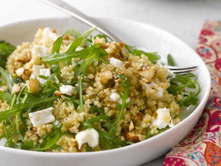 salat aus rucola quinoa und ziegenk se rezept eat smarter. Black Bedroom Furniture Sets. Home Design Ideas