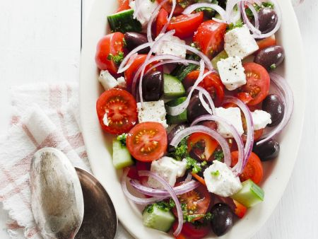 Rezept: Griechischer Salat