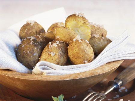 Salz-Kartoffeln mit Dip nach kanarischer Art