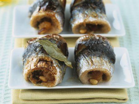 Sardinen auf sizilianische Art