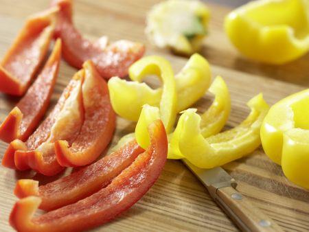 Sauerkrautsuppe mit Kassler: Zubereitungsschritt 2