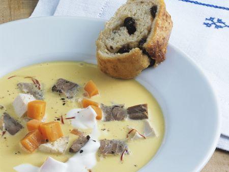 Saure Suppe auf Kärntner Art (Villacher Kirchtagssuppe)