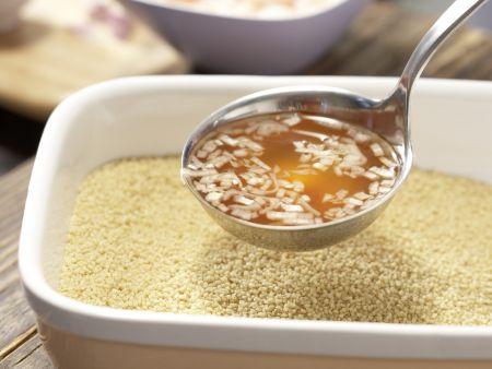 Scharfer Couscous-Salat: Zubereitungsschritt 2