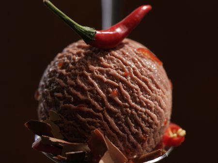 Schoko-Chili-Eis
