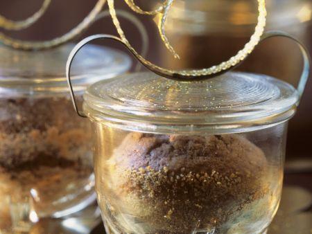 Schoko-Kaffee-Küchlein im Weckglas