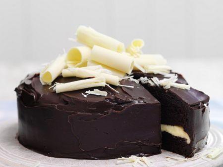 schokokuchen mit wei er schokolade rezept eat smarter. Black Bedroom Furniture Sets. Home Design Ideas