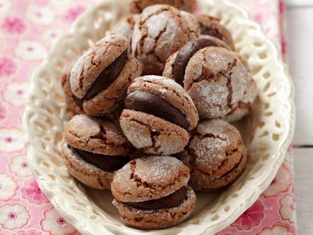Schokoladen Macarons