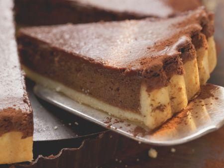 Schokoladen-Mandel-Tarte mit Kardamom