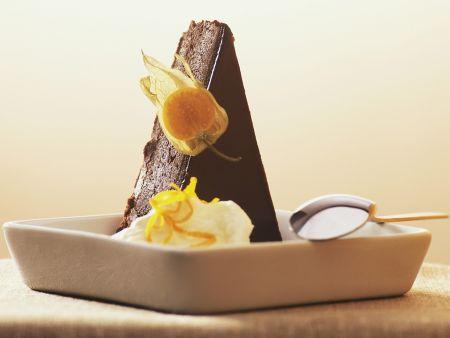 Schokoladenkuchen auf holländische Art