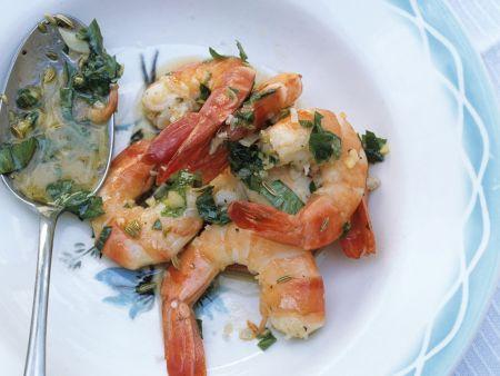 Shrimps mit Pastis
