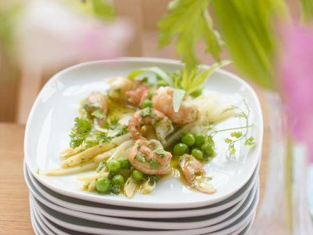 Spargel-Krabben-Salat