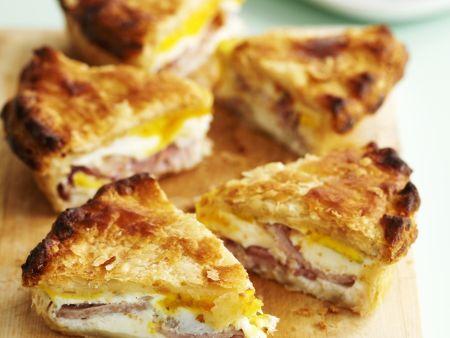 Speck-Pie mit Ei