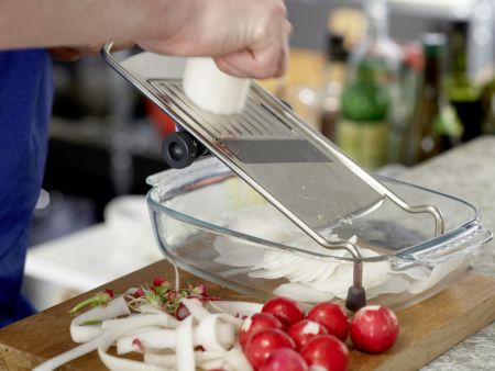 Spinat-Quark-Plätzchen: Zubereitungsschritt 1