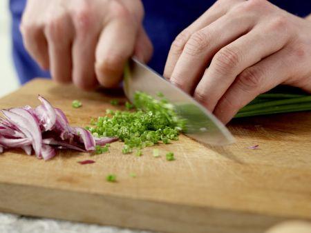 Spinat-Quark-Plätzchen: Zubereitungsschritt 2