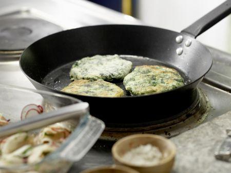 Spinat-Quark-Plätzchen: Zubereitungsschritt 8