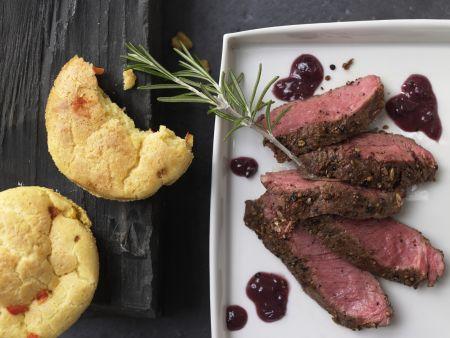 Kochbuch für Weihnachtsessen mit Fleisch