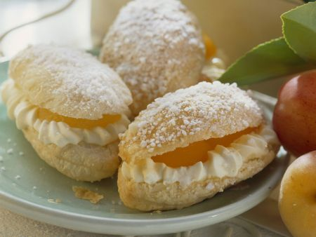 Süße Aprikosen-Sandwiches