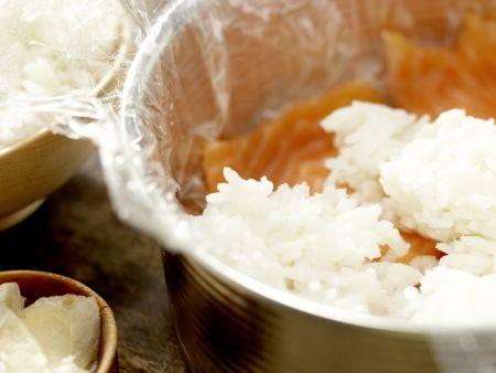 Sushi-Torte: Zubereitungsschritt 3