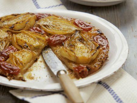 Tarte mit Fenchel und Tomaten