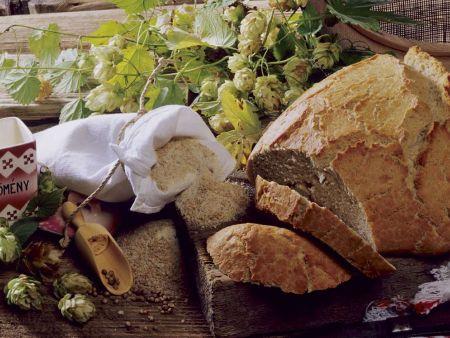 Teig für Brot