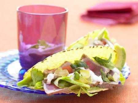 Thunfisch-Tacos
