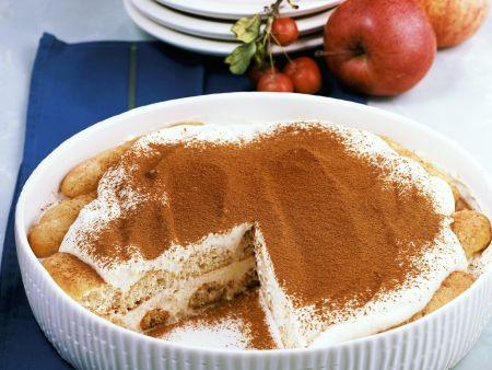 Rezept: Tiramisu mit Apfelmus
