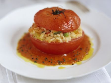 Tomate mit Füllung