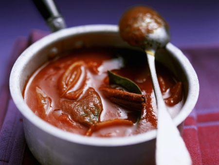 Tomatensoße mit Zimt