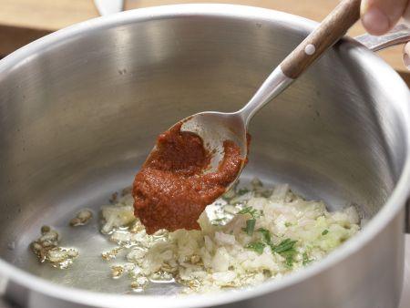 Tomatensuppe mit Lavendel: Zubereitungsschritt 3