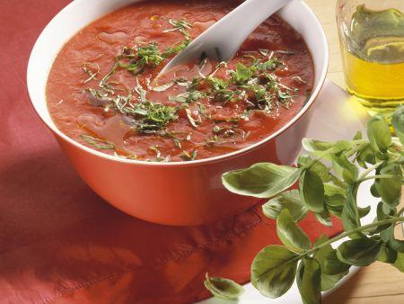 Tomatensuppe nach italienischer Art