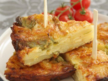 Tortilla mit Kartoffeln