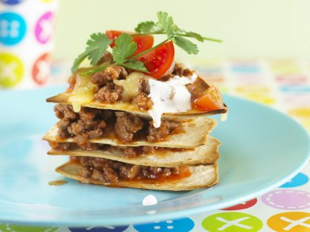 tortillas mit hackfleisch rezept eat smarter. Black Bedroom Furniture Sets. Home Design Ideas