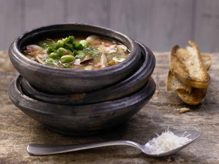 Toskanische Pilzsuppe