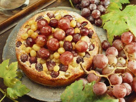 Traubenkuchen
