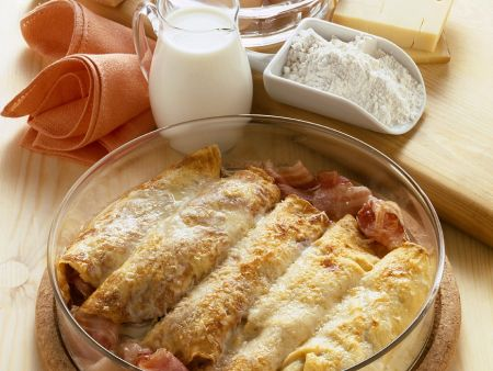 Überbackene Ricotta-Pfannkuchen