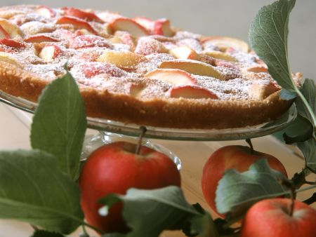 Vanille-Apfel-Clafoutis