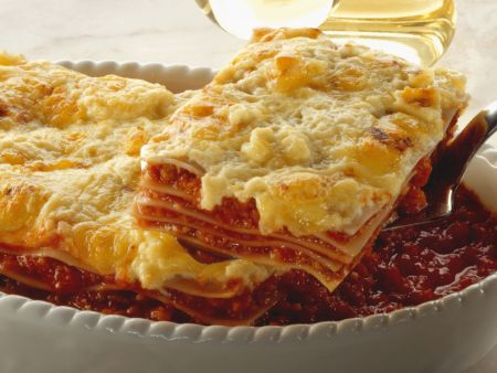 vegetarische lasagne rezept eat smarter. Black Bedroom Furniture Sets. Home Design Ideas