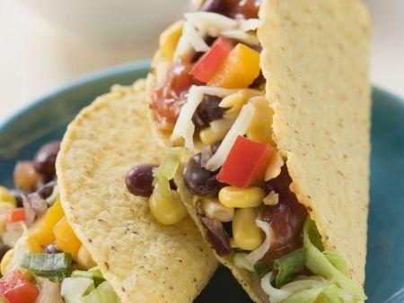 Vegetarische Tacos mit Gemüse