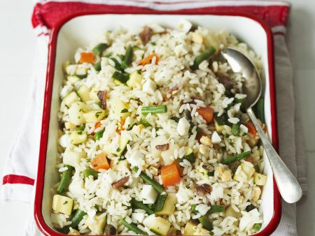 Rezept: Reissalat mit Sardellen