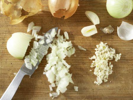 Vegetarisches Chili: Zubereitungsschritt 2