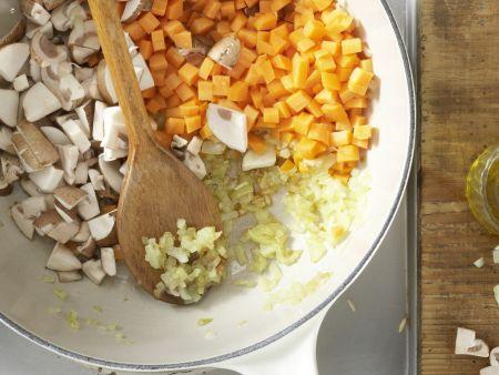 Vegetarisches Chili: Zubereitungsschritt 6