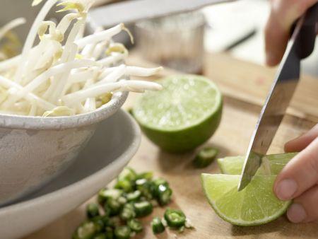 Vietnamesische Suppe: Zubereitungsschritt 11